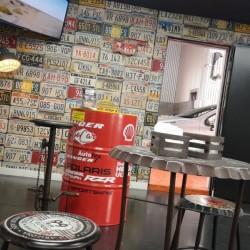 Cool waiting room at GoCar