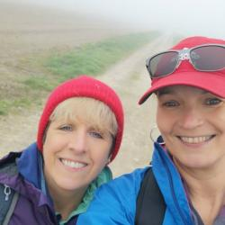 TRAINING - We've had some very misty days!