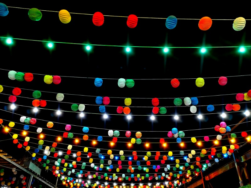 Cantoria Fiesta Decorations